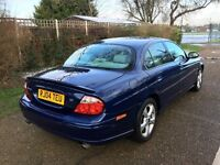2004 JAGUAR S-TYPE 3.0 AUTOMATIC BLUE 95 000 MILES VERY CLEAN CONDITION