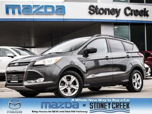 2015 Ford Escape SE Ecoboost AUTO,1 OWNER,ACC FREE,B/T+HEATED+FO