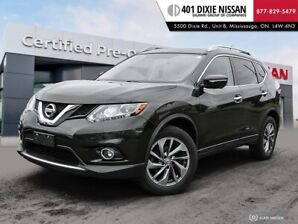 2015 Nissan Rogue SL AWD|NAVI|LEATHER|360 CAM|BLUETOOTH|KEYLESS