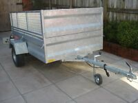 Longdog ATV/Stock Trailer 7'x4'6''