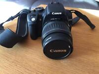 Canon EOS 350d and 2 lenses
