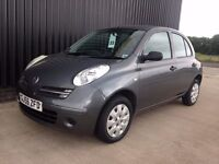 2007 (56) Nissan Micra 1.2 16v Initia 5dr Automatic Low Mileage 2 Previous Owners Clean Car May PX