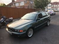 Bmw 528i 2001 fully loaded left hand drive