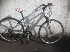Carrera Crossfire.1. Unisex hybrid bike. Fully serviced, fully safe and ready to go.