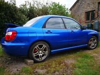 Subaru Impreza WRX Turbo 2005 low mileage for year much cared for car, great example
