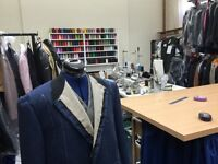 Sewing machinists, tailors and dressmakers required full time to work for City Tailors in Bath