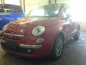 2012 Fiat 500 Lounge LEATHER SUNROOF