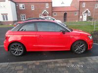 Audi A1 S Line, Misano Red, 1 owner from new, MOT Nov 2017, EW, PAS, SC, Reversing Sensors,