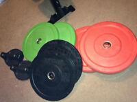 Jordan bumper weights 80kg £170