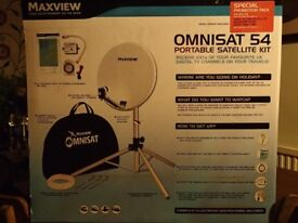 Maxview Omnisat 54 portable satellite kit