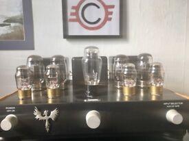 Custom hifi valve amplifier