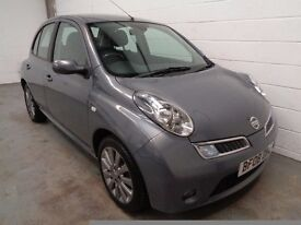 NISSAN MICRA , 2008 REG , ONLY 37000 MILES + FULL HISTORY , YEARS MOT , FINANCE AVAILABLE , WARRANTY