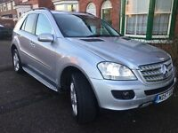 Mercedes Ml320 CDI Sport Edition ££££Full service history in MB £££full options !!!