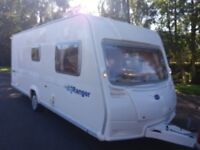 Bailey Ranger 6 berth 2007 family caravan with awning and the rest of the things to start touring