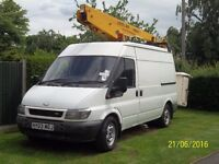 Ford Transit 350LWB Cherry Picker Access Versalift Eurotel 36NF