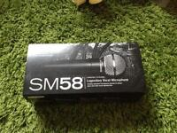 Band new Shure SM58 Microphone
