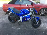 GILERA DNA 50cc RARE BLUE