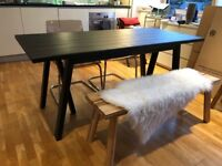 IKEA RYGGESTAD Dining table for 6 DARK BROWN