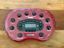 Line 6 Guitar Pod XT Modelling Preamp *POWER SOURCE NOT INCLUDED*