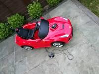 Charles Bentley Ferrari 6V Ride on Car - Red
