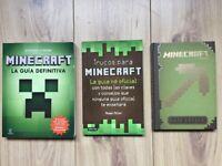 MINECRAFT Spanish books almost NEW