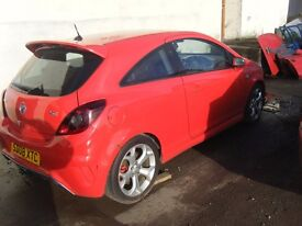 BREAKING VAUXHALL CORSA VXR TURBO CAN POST PARTS