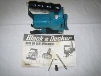 BLACK & DECKER D 986 JIG SAW ATTACHMENT
