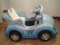 Child's Ride In Electric Car ** An Ideal Xmas Present**