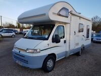 Fiat Ducato 1.9 Diesel Swift Campervan, ONLY 34,600 Miles !!, New MOT (May 2019), Lovely Condition.