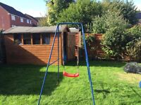 Child's swing with extra seat!