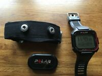 Polar Heart Rate Monitor with GPS and strap - Model RC3