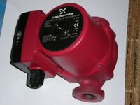 Central heating pumps. GRUNDFOS UP52 15-50/60 and FHS LPS 40-65/130