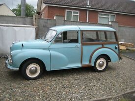 morris Minor TRAVELER 1965 Very good M O T and Taxed Drive away