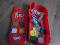 Littel Tikes - playdo phone