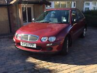 Rover 25 Petrol, MOT until 5/17, only 31,000 miles
