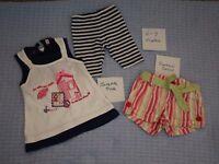 Girls 6 - 9 months clothes bundle inc summer clothes: TU, Pumpkin Patch, H&M and more