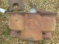 Victorian Cast Iron Toilet Cystern