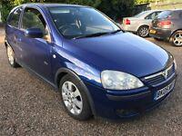 Vauxhall Corsa SXI TwinPort 1229cc Petrol 5 speed manual 3 door hatchback 05 Plate 15/04/2005 Blue