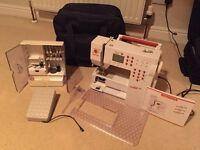 Bernina Activa 230 Patchwork Edition sewing machine, as-new, absolute bargain