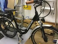 Electric bike never been used with charger