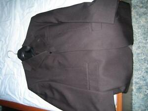 STARS Men's Black Suit (29/74 short, pants hemmed to 37 inches)