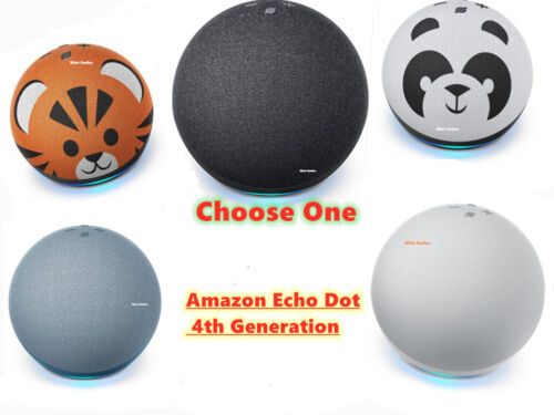 Amazon Echo Dot (4th Gen.) 4th Generation  Smart Speaker - Choose your Color