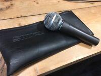 Classic Shure SM58 Microphone
