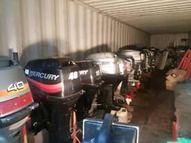 Outboards for sale from 2 hp up