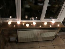 Battery operated fairy lights with lanterns