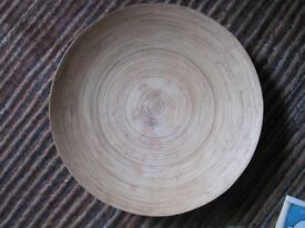 Large Wooden fruit Bowl 60 x 80 cms