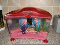 Marina Cold water Fish Tank with internal Filter