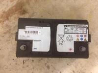 Varta 12v car battery 80Ah 800A