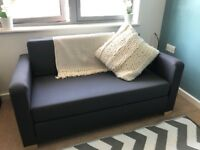Double sofa bed, hardly used - collection only