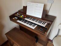Yamaha electric organ A55